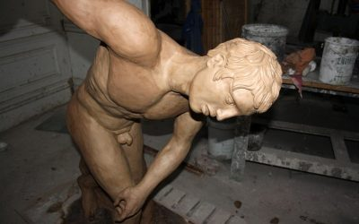 Artwork spotlight: the Discobolus